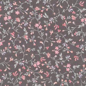 Robert Kaufman - Woodland Blossom SRK-17102-184 CHARCOAL